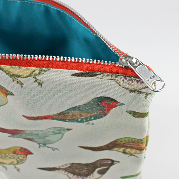 Bird Print Pouch - Pack of 4 - Sukie Wholesale
