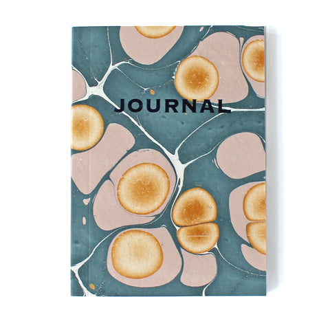 Blue & Pink Marble Journal MAR020 - Pack of 4 - Sukie Wholesale