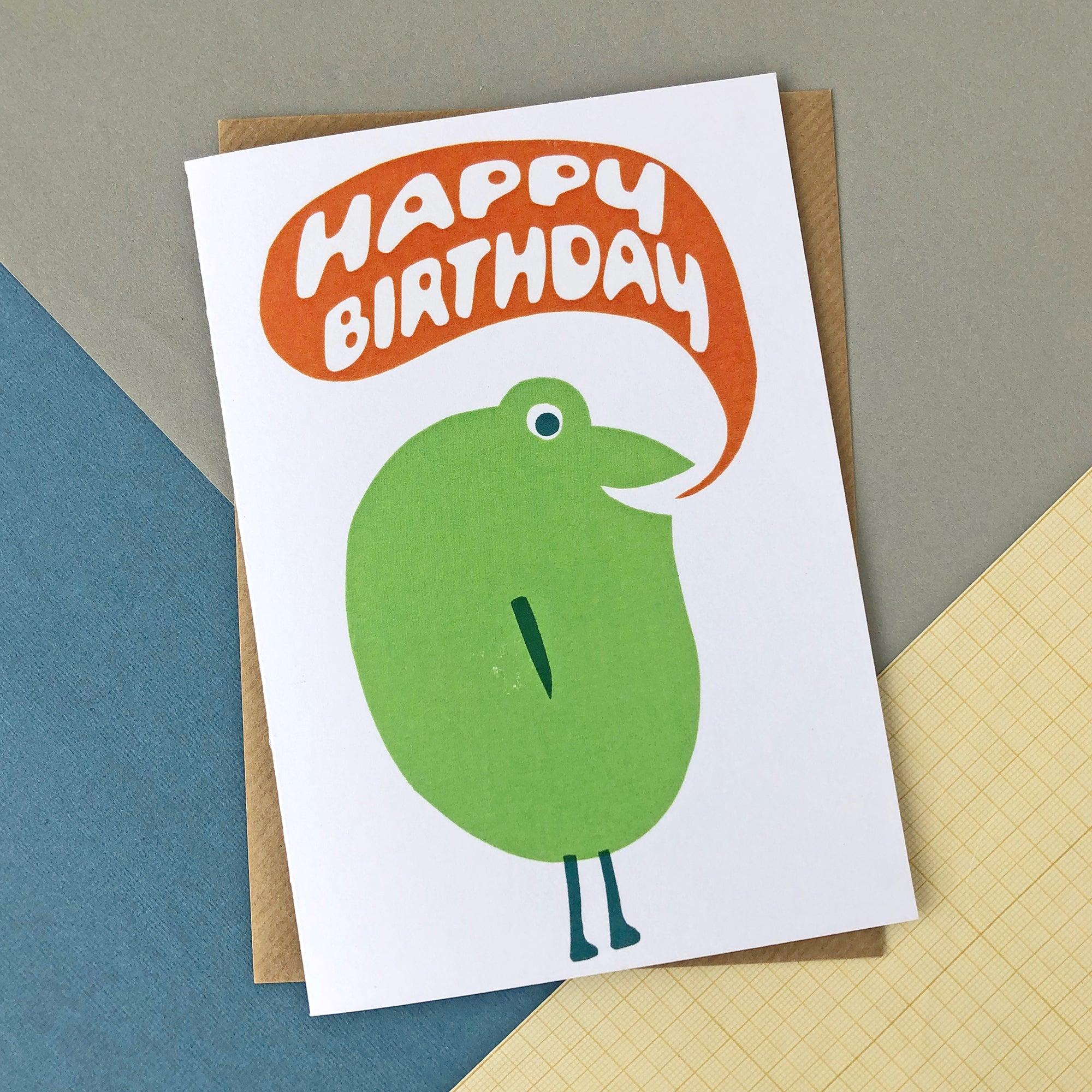 CARD034 Birthday Frog Dude Card - Pack of 6 - Sukie Wholesale