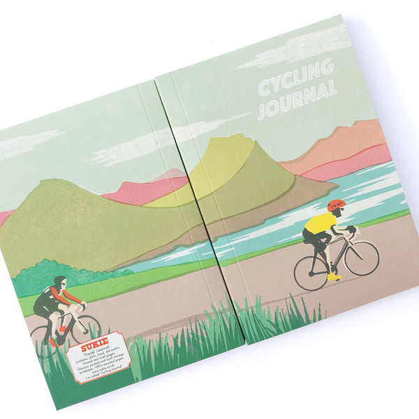 Cycling Journal - Pack of 4 - Sukie Wholesale