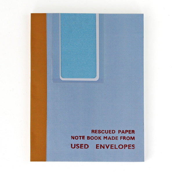 Rescued Notebook Used Envelopes V032 - Assorted pack of 4 - Sukie Wholesale