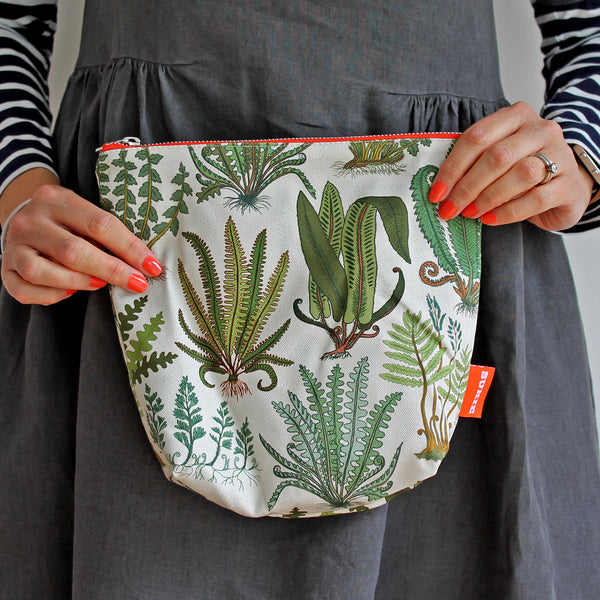 Ferns Print Pouch - Pack of 4 - Sukie Wholesale