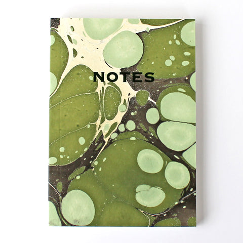 Marbled Notebook MAR008- Green Pack of 4 - Sukie Wholesale