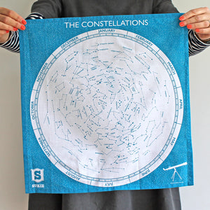 Constellations Handkerchief - Pack of 4 - Sukie Wholesale