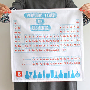 Periodic Table of Elements Handkerchief SUK037- Pack of 4 - Sukie Wholesale