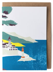 CARD004 Lighthouse Card - Pack of 6 - Sukie Wholesale