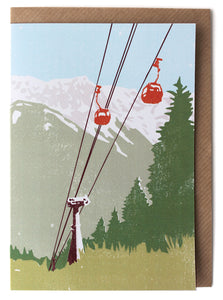 CARD010 Cable Car Card - Pack of 6 - Sukie Wholesale