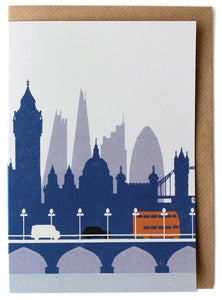 CARD008 London Card - Pack of 6 - Sukie Wholesale