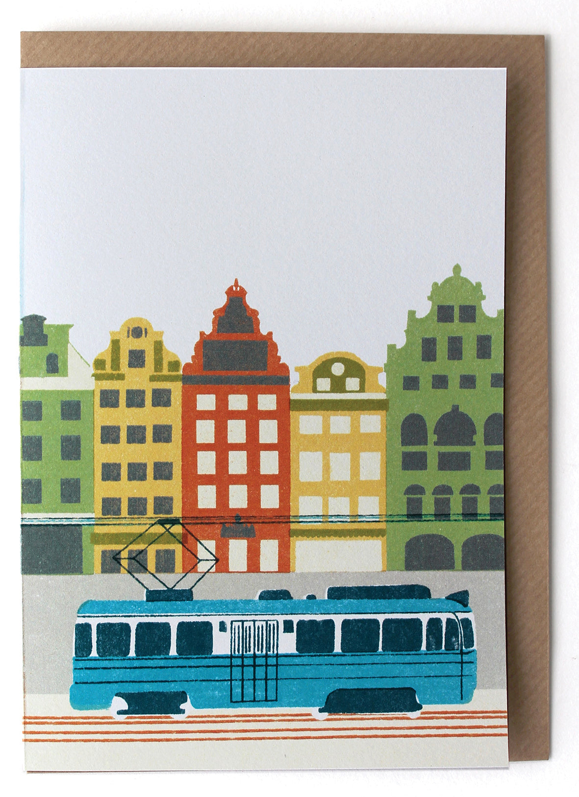 CARD005 Scandi Card - Pack of 6 - Sukie Wholesale