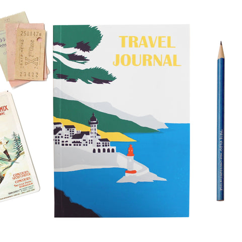 Travel Journal 'Lighthouse' - Pack of 4 - Sukie Wholesale