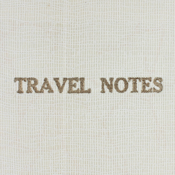 Linen Map Travel Notes in Pink - Pack of 4 - Sukie Wholesale