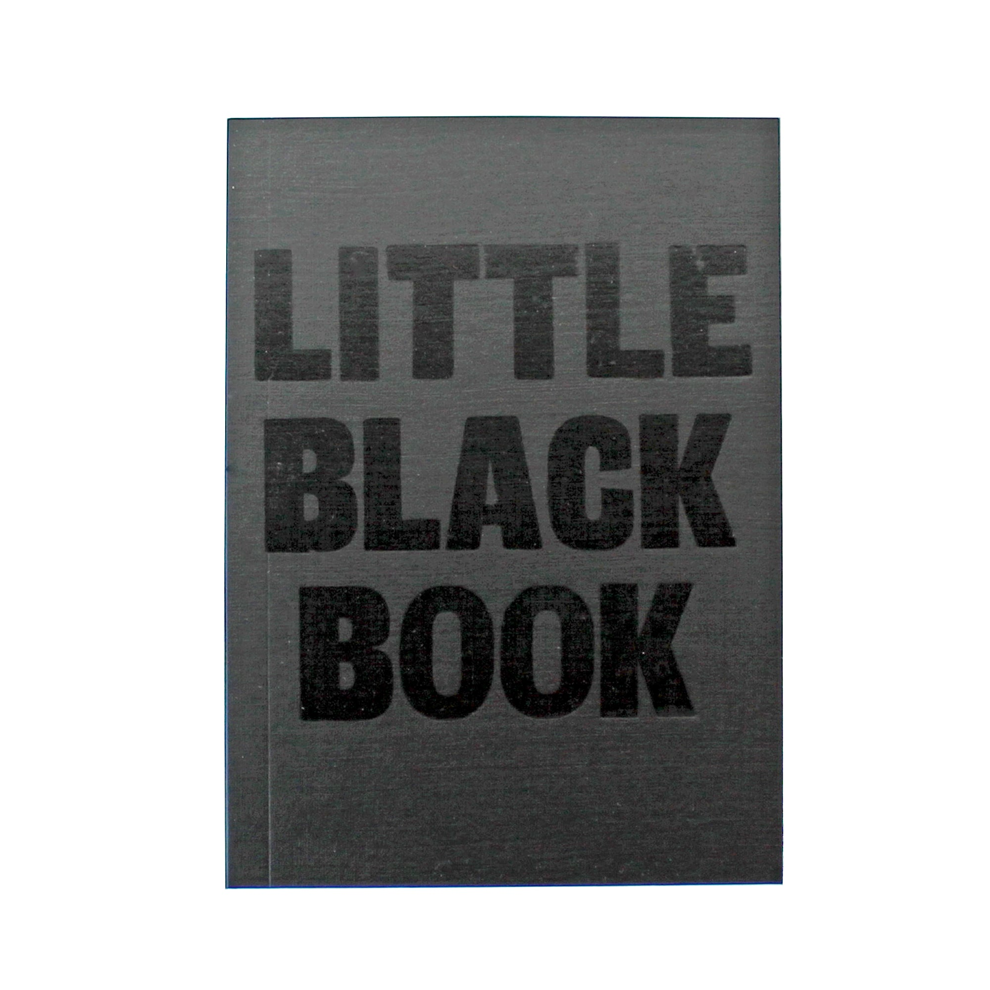 LETTERPRESS Little Black Book V044 Notebook - Pack of 4 - Sukie Wholesale