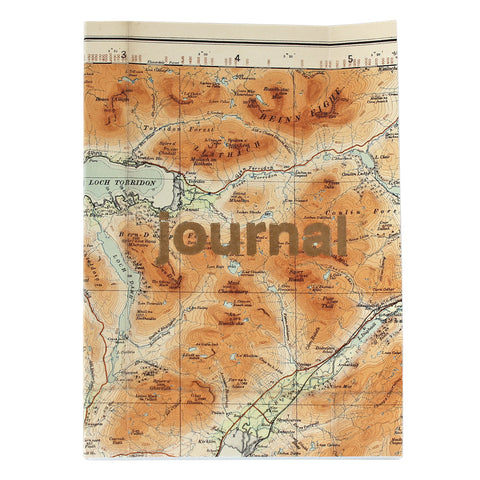Vintage Gold Type Journal  V038 - Pack of 4 - Sukie Wholesale