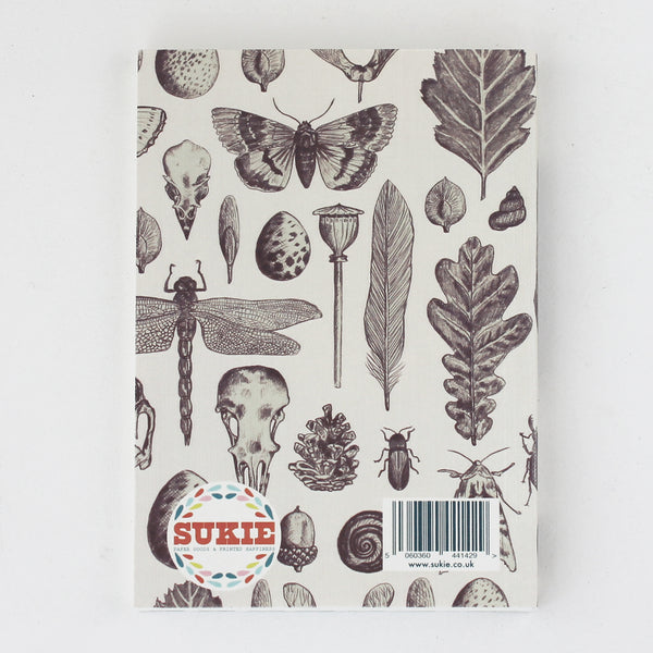 Natural History Notebook N016 - Pack of 4 - Sukie Wholesale