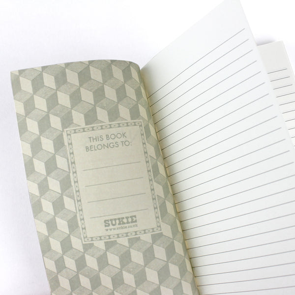 Vintage Artist Notebook - Pack of 4 - Sukie Wholesale