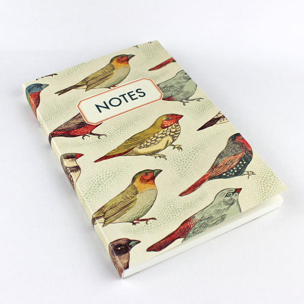 Birds Notebook - Pack of 4 - Sukie Wholesale