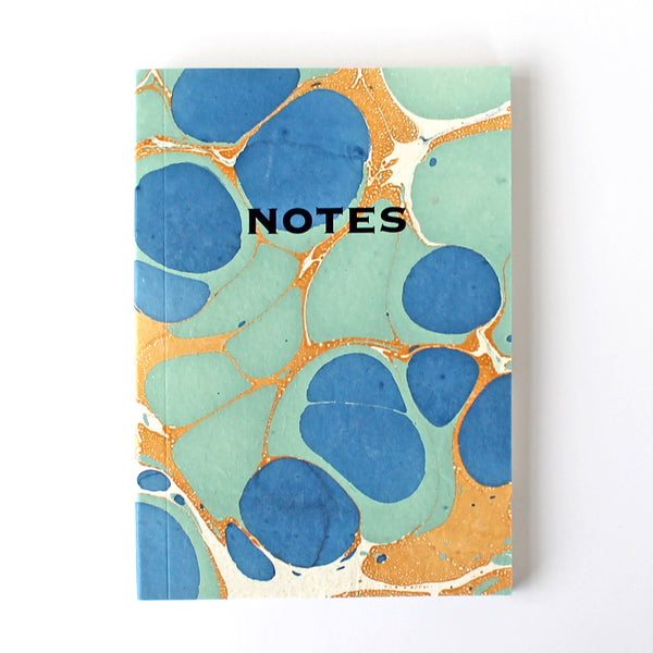 Marbled Notebook - Assorted pack of 6