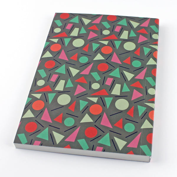 My First Novel Notebook SUK035 (Shapes)- Pack of 4 - Sukie Wholesale