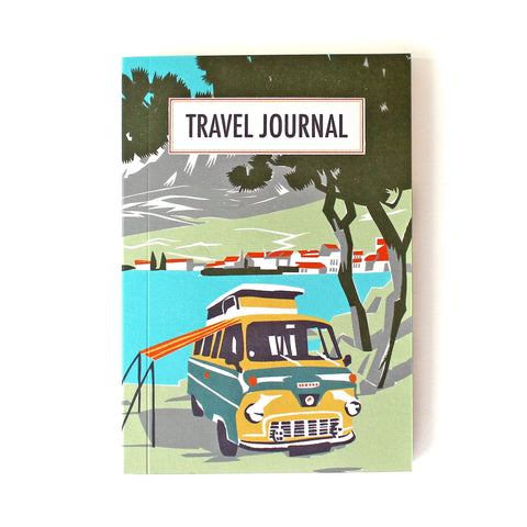 Travel Journal 'Beach Camper' - Pack of 4 - Sukie Wholesale