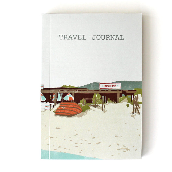 Travel Journal 'Beach Shack' - Pack of 4 - Sukie Wholesale