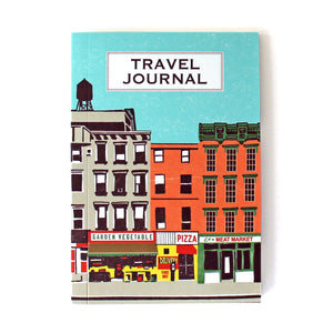Travel Journal 'Downtown NYC' - Pack of 4 - Sukie Wholesale