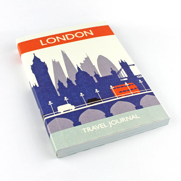 Travel Journal 'London' - Pack of 4 - Sukie Wholesale