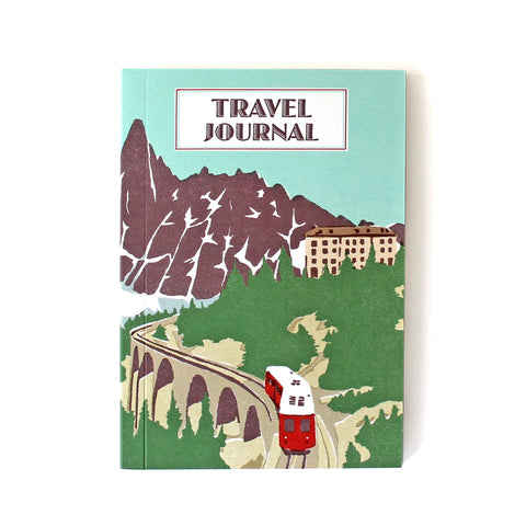 Travel Journal 'Mountain Rail' - Pack of 4 - Sukie Wholesale
