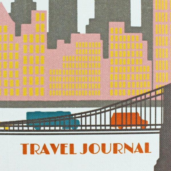 Travel Journal 'New York' - Pack of 4 - Sukie Wholesale