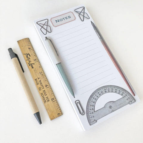 Note Pad - Vintage Stationery Pack of 4 - Sukie Wholesale