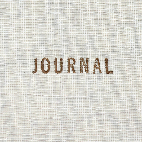 Vintage Linen Map Journal - Gold Letterpress - Pack of 4 - Sukie Wholesale