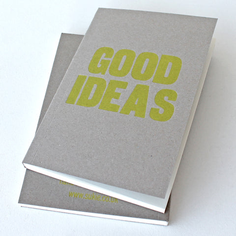LETTERPRESS Good Ideas V042 Notebook - Pack of 4 - Sukie Wholesale