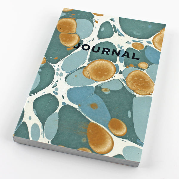 Sea Green Marble Journal MAR018 - Pack of 4 - Sukie Wholesale