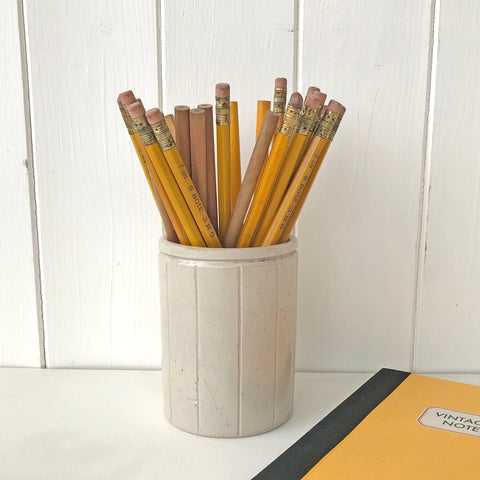 Stoneware Pencil Pot V040 - Pack of 4 - Sukie Wholesale
