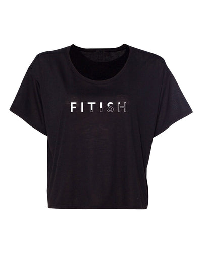 FITISH WOMEN'S CROP TEE - The Fitish