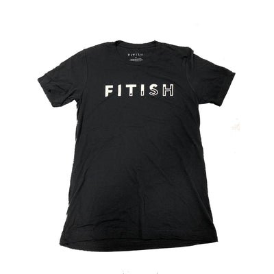 FITISH UNISEX SHORT SLEEVE BLACK TEE - The Fitish