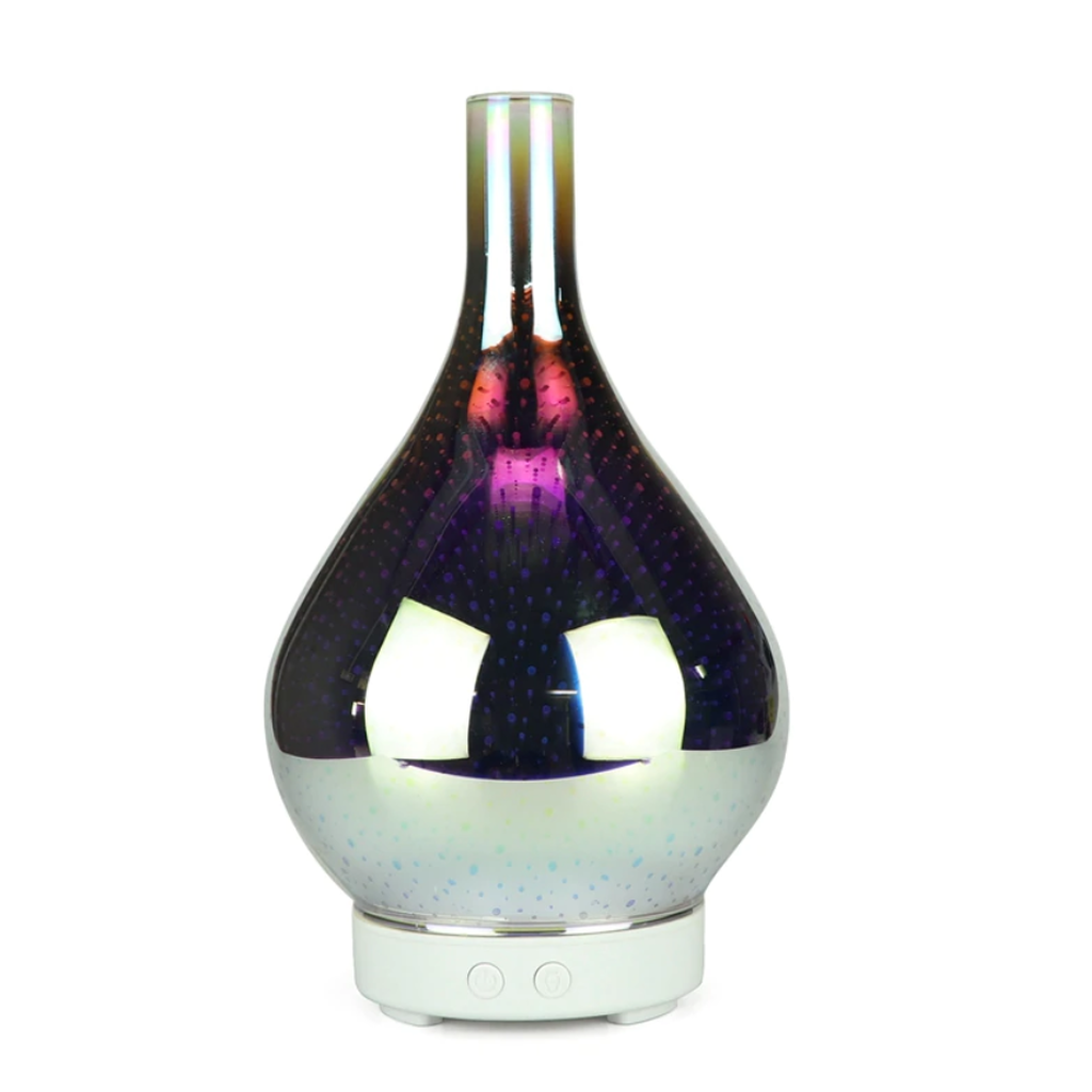 3D Fireworks Glass Vase Shape Air Humidifier