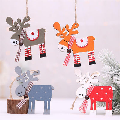 Christmas Decor wood Paints