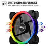 DarkFlash PC RGB LED Cooling Fan