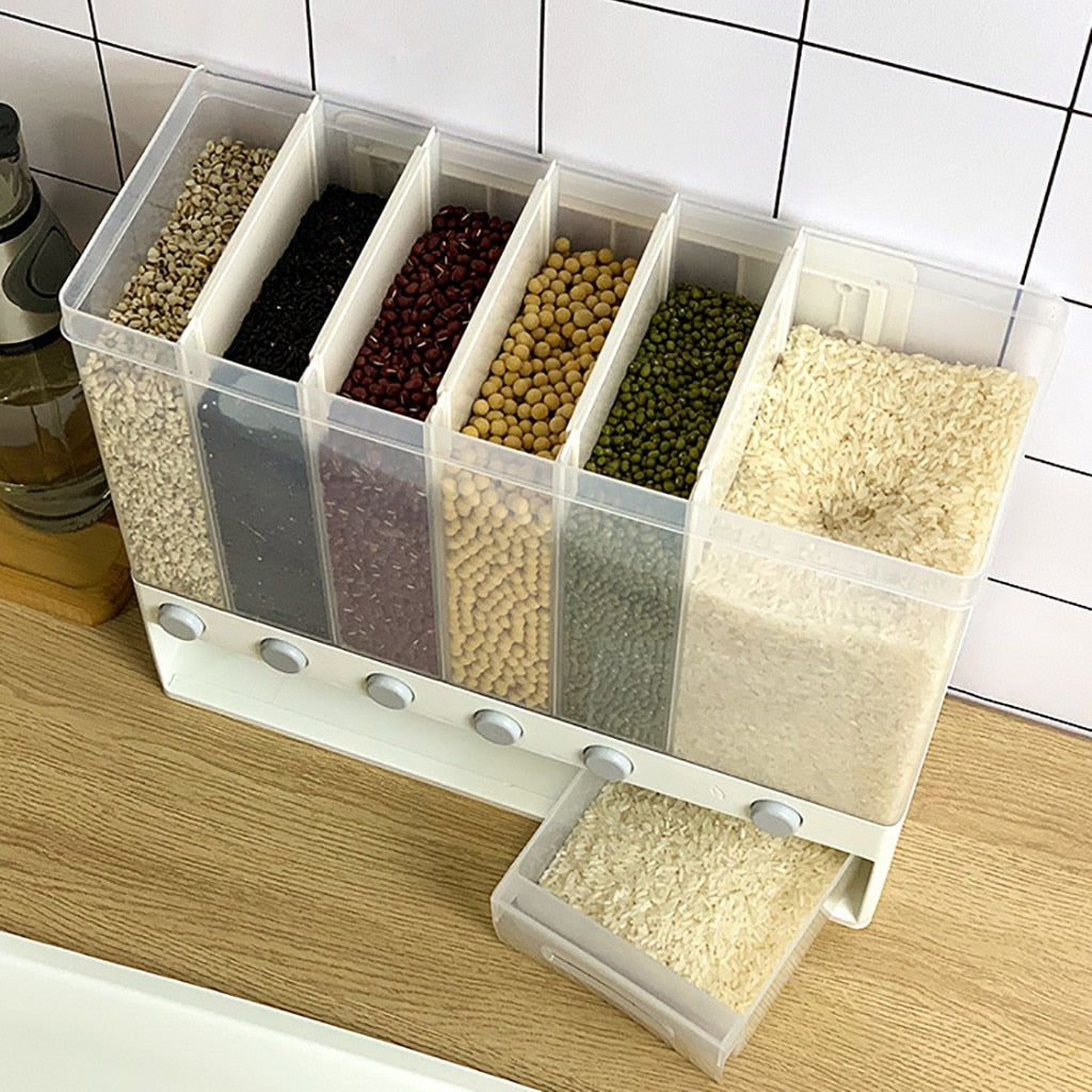 Smart Space Wall-Mounted Dry Food Dispenser
