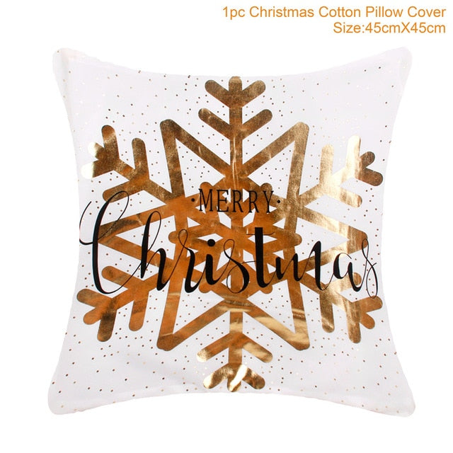 Beautiful Merry Christmas Cushion Covers 45x45cm