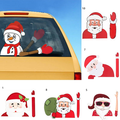 Christmas car wiper