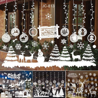 Window Stickers For Christmas Decoration