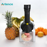 Popular Home Automatic Fruit Ice Cream Maker Household Mini Electric Ice Cream Machine For Child DIY Ice Cream  Cool Summer