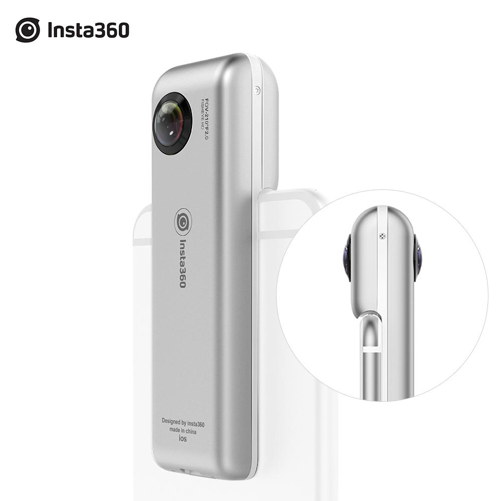 Insta360 Nano 360 Panorama Camera 3K HD 210 Degree Dual Wide Angle Fisheye Lens VR Camera 360 Camera for iPhone 7 7+ 6 6s 6+
