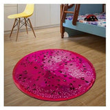 3D Fruit Round Area Rug