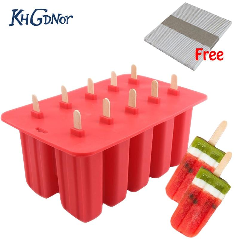 Popsicle Mold Ice Cream Tray