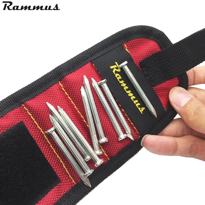 Magnetic Wrist Band Nail and Screw Holder