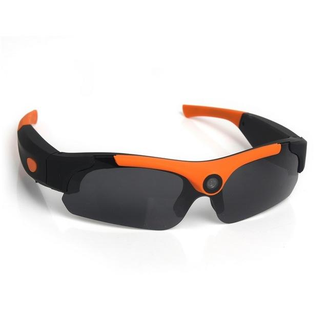 Sunglasses with HD CamCorder