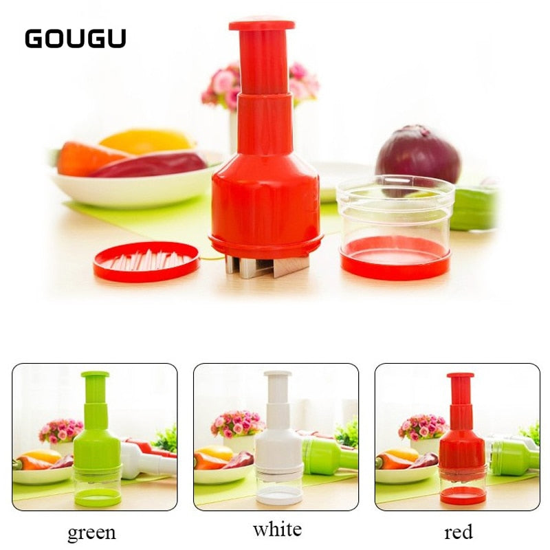 Onion Chopper Slicer Garlic Grinder