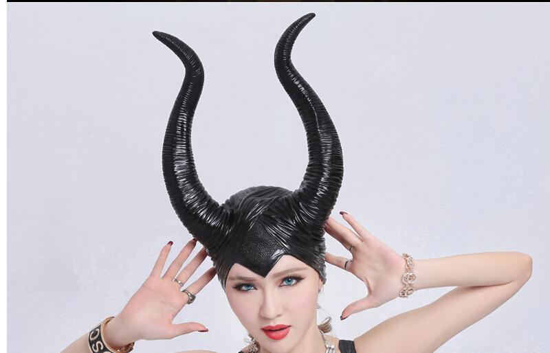 Maleficent horns headpiece costume